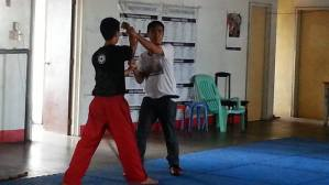 Modern Arnis tapi-tapi (mati) officers and members, during the recently concluded August 30,2014 tribute to grandmaster Amador Remy Presas at Iloilo Tinagan School of Martial Arts, Inc. Matti officers Dayang Girlie Delotavo-Tinagan and Lakan June Tanalgo, during signed legacy for imafp pioneer at iloilo chapter Exposure of Modern Arnis Tapi Tapi stick and hand to hand Techniques and Labanan sports contact to be held at Iloilo Tinagan School of Martial Arts Bothoan ng MATTI Iloilo Chapter