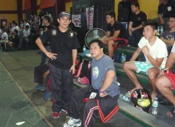 GM Bambit Dulay and Master Rey Postrado