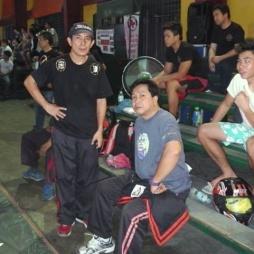 GM Bambit Dulay and Master Rey Postrado