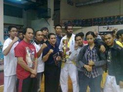 GM Bambit DUlay with Kyokoshin Officials