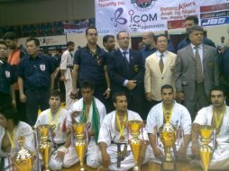 Kyokoshin Officials and Players