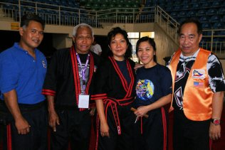 Dayang with Grand Masters and Masters