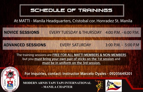 Temp MATTI Manila Training